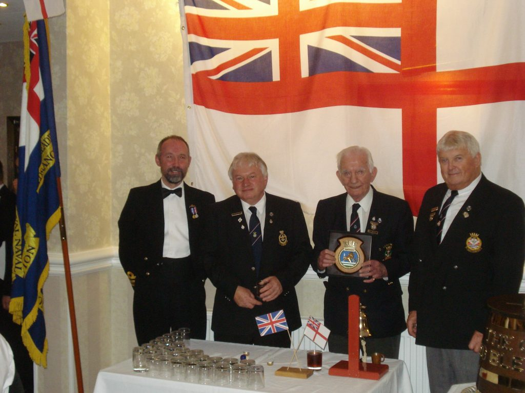 Cdr Martin Gill Paul Walker Geoff Thornton and John Rance