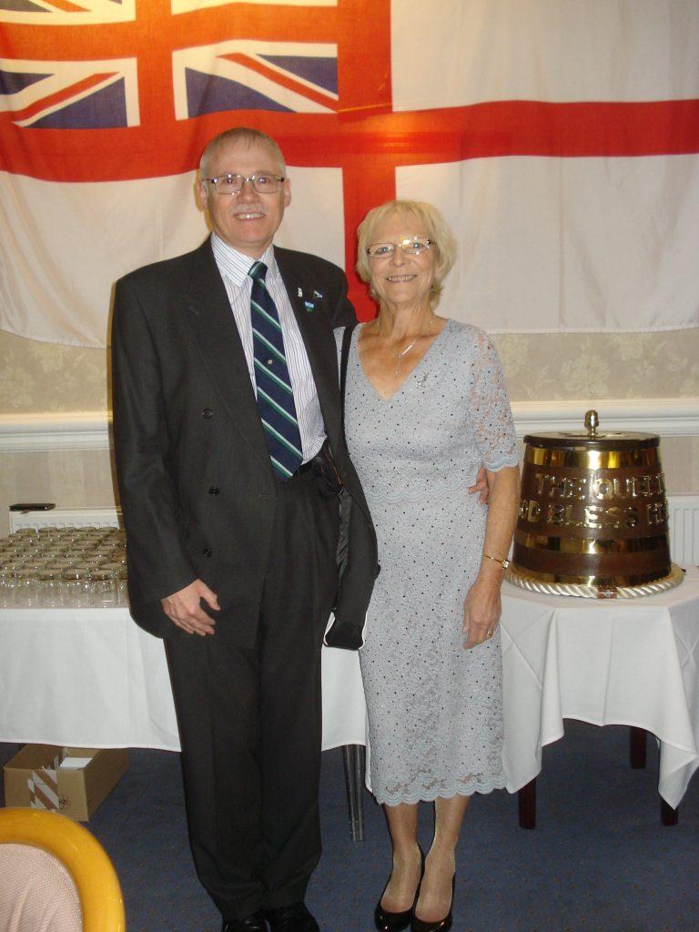 LT Col Allan Grindrod TA and Mrs Sandra Grindrod