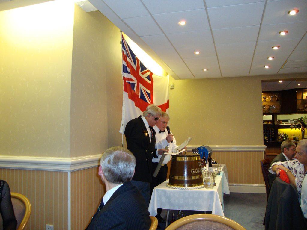 Trafalgar Night Dinner 2009