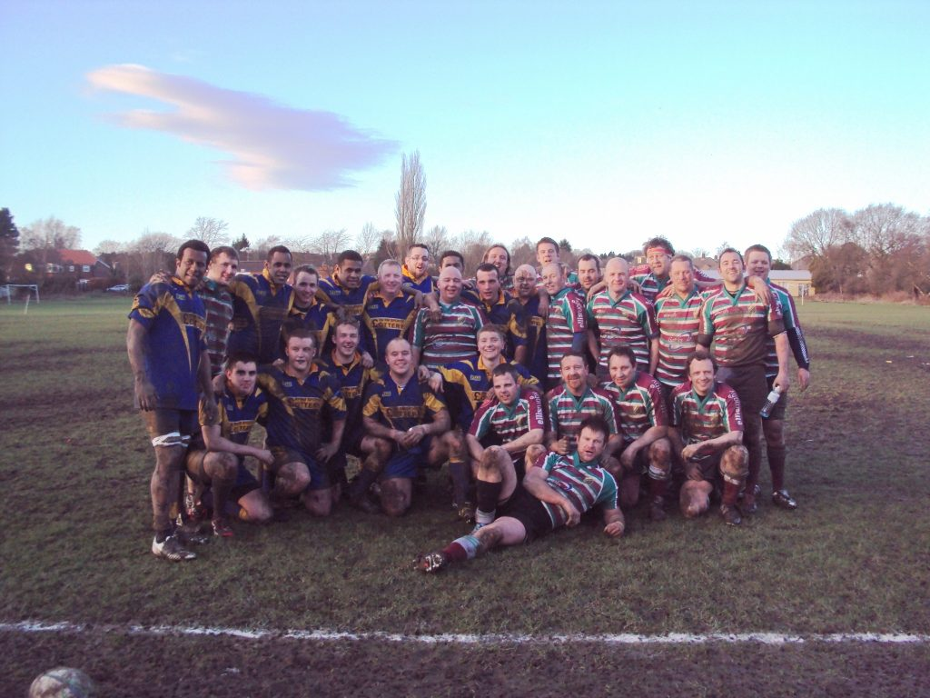 Moortown & HMS Ark Royal Rugby Teams
