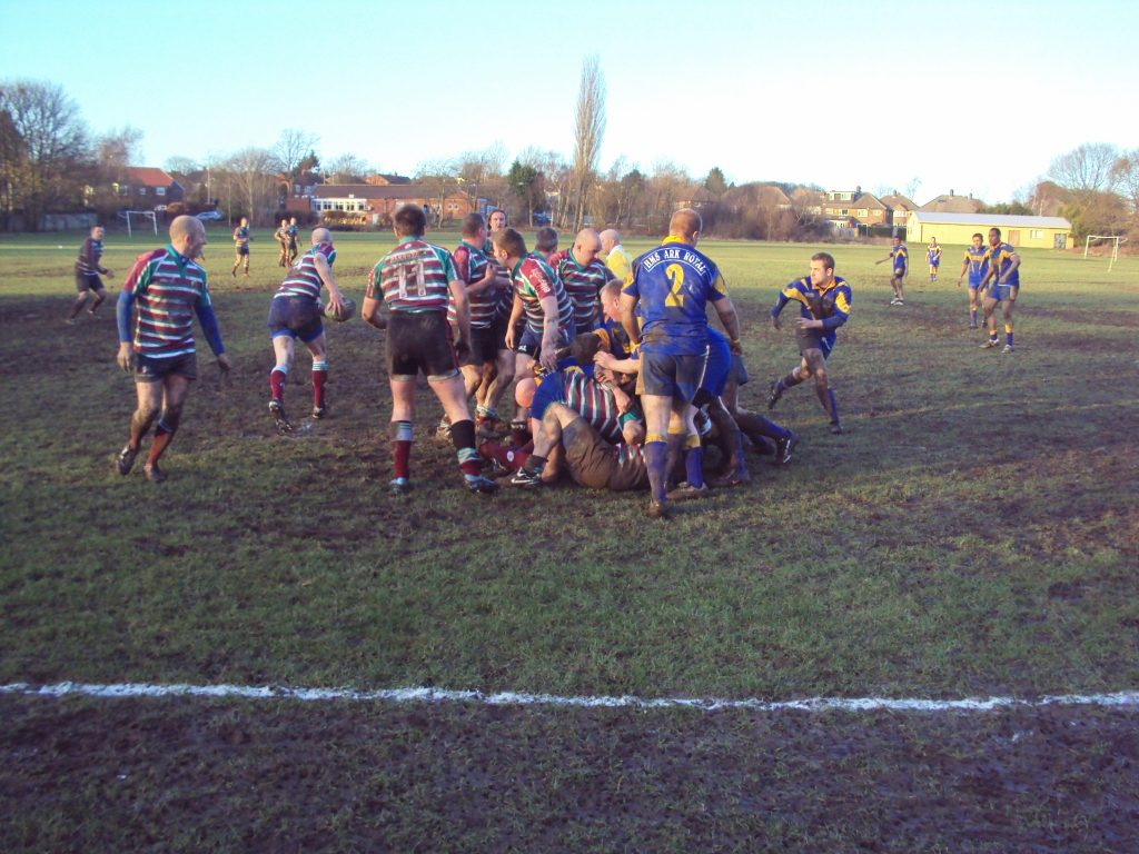 Moortown RUFC verses HMS Ark Royal
